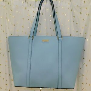 LIGHT BLUE KATE SPADE PURSE